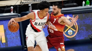 Denver Nuggets venció a los Portland Trail Blazers por 111-106