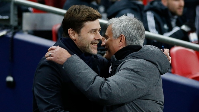 Mauricio Pochettino y José Mourinho.