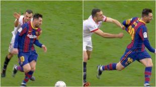 Jordan y Messi.