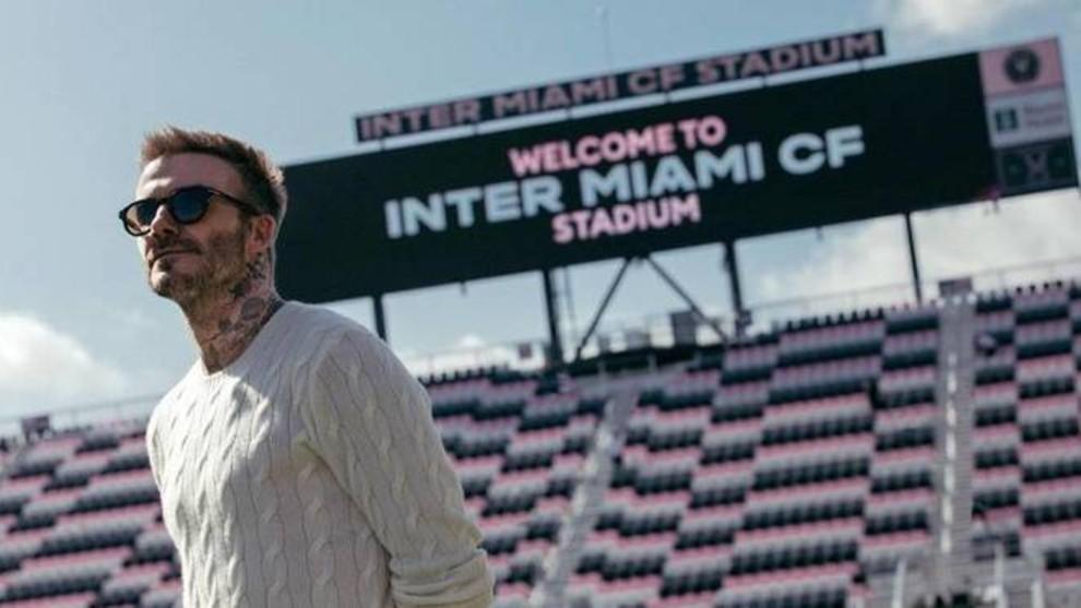 David Beckham con el Inter Miami.