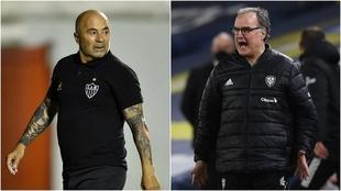 Jorge Sampaoli y Marcelo Bielsa fueron entrenadores de la Selección...