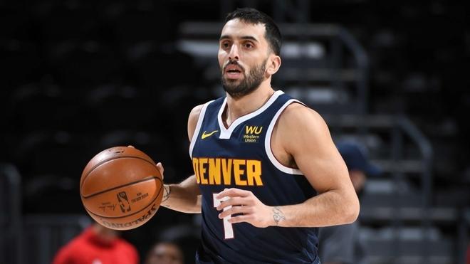 Denver Nuggets aisla a Facu Campazzo por contacto estrecho