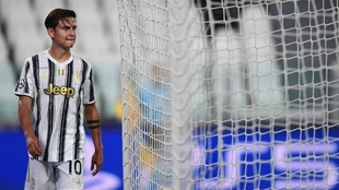 Paulo Dybala, en busca de volver a jugar en Juventus