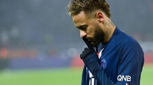 Neymar criticó a los hinchas del PSG.