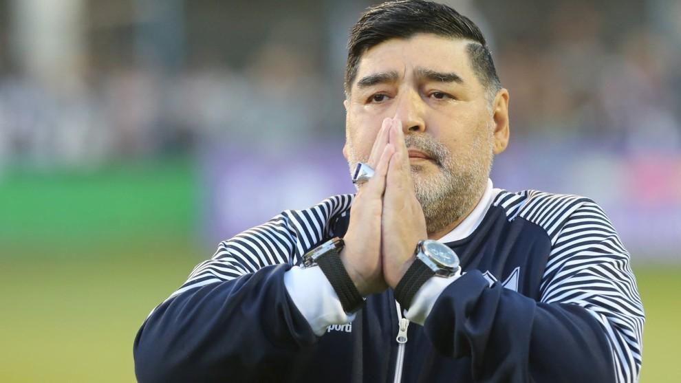 Audio de Diego Maradona: