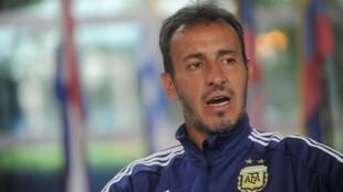 Fernando Batista, técnico de la Sub-23.