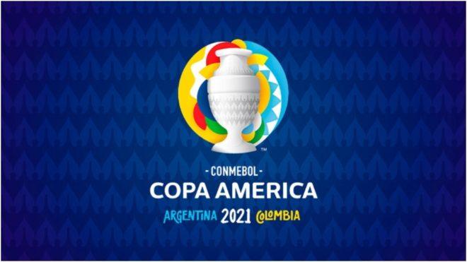 El logotipo de la Copa América 2021.