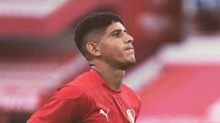 Alan Franco se va de Independiente.