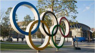 Los anillos que representan los JJ.OO.
