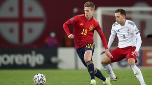 Eliminatorias Europa Qatar 2022: España venció a Georgia por 2-1