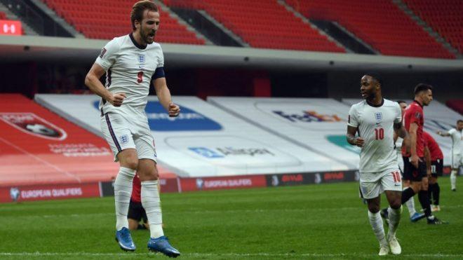 Eliminatorias Europa Qatar 2022: Inglaterra venció a Albania por 2-0