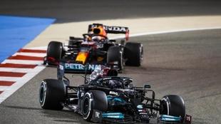 F1 2021: Lewis Hamilton fue el ganador en el Gran Premio de Bahrein...