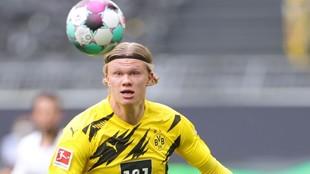 Haaland, jugador del Borussia Dortmund