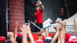 Charles Leclerc, uno de los pilotos de Ferrari
