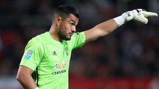 Sergio Romero termina su vínculo con Manchester United a final de...