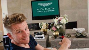 Nico Hülkenberg se suma a Aston Martin Racing