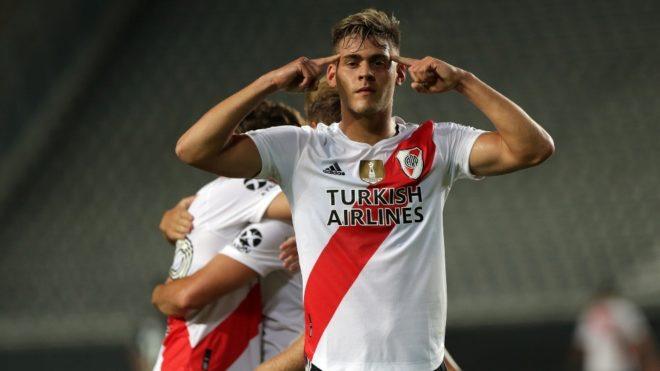 Federico Girotti, la carta goleadora de River