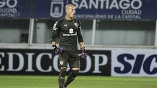 Sebastián Sosa mostró su enojo por el penal del Racing vs...