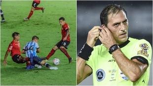 Mauro Vigliano y el error del Racing vs Independiente