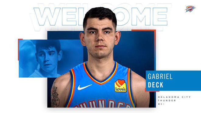 Gabriel Deck deja el Real Madrid y se marcha a la NBA