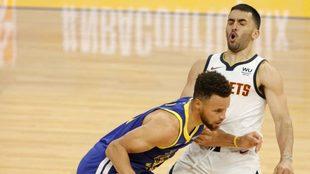 Golden State Warriors venció a Denver Nuggets en una nueva jornada de...
