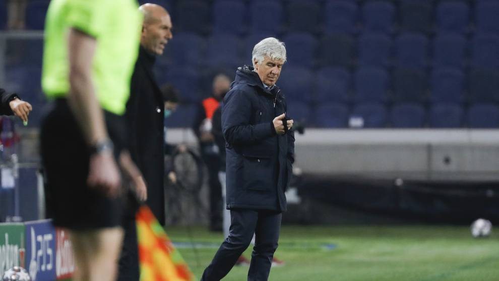 Gian Piero Gasperini, entrenador del Atalanta.