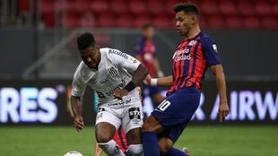 Copa Libertadores hoy: Santos venció a San Lorenzo por 2-2