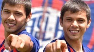 Los hermanos Romero.