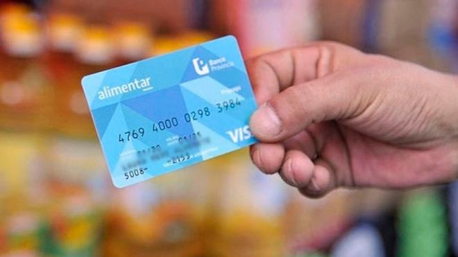 tarjeta alimentar cronograma de pago abril