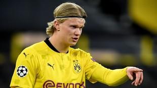 Haaland, futolista del Borussia Dortmund