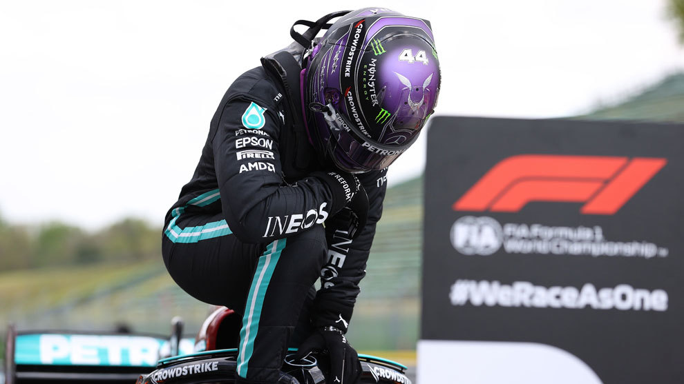Lewis Hamilton, pole en GP Emilia Romagna