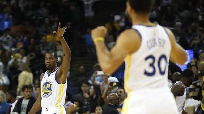 Stephen Curry responde a la provocación de Kevin Durant