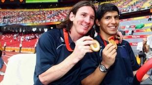 Leo Messi ganó la medalla de oro en Beijing 2008