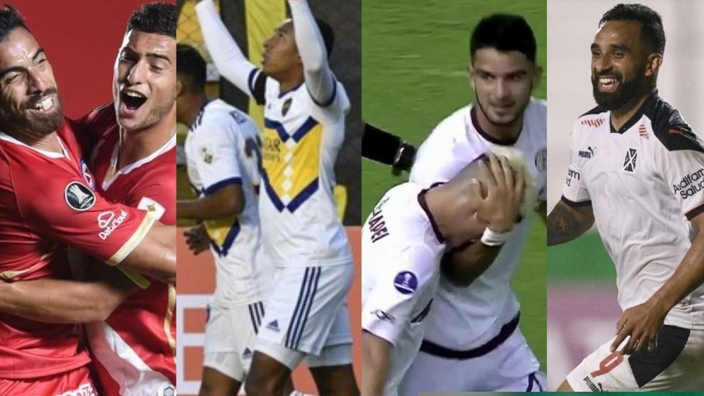Argentinos, Boca, Lanús e Independiente, los únicos que festejaron.