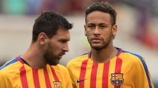 """Neymar liquida el sueño de jugar con Messi: """"Está todo..."""