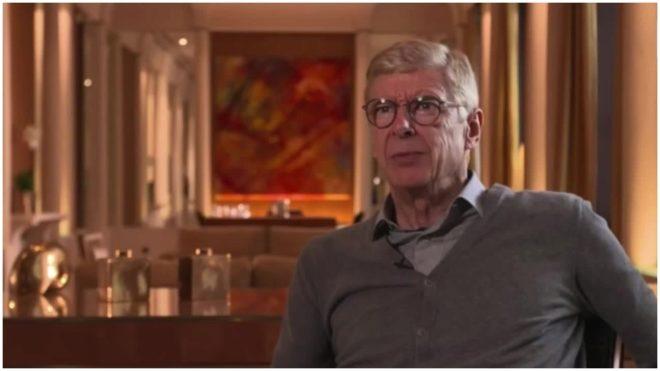 Arsène Wenger, durante una entrevista reciente.
