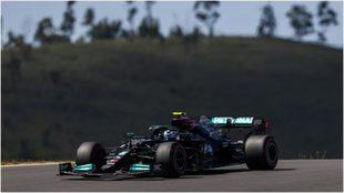 Valteri Bottas, en el circuito de Portimao.