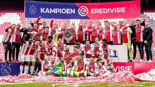 El Ajax se proclamó campeón.