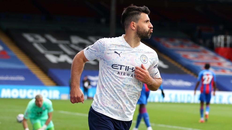 Kun Agüero, futbolista del Manchester City