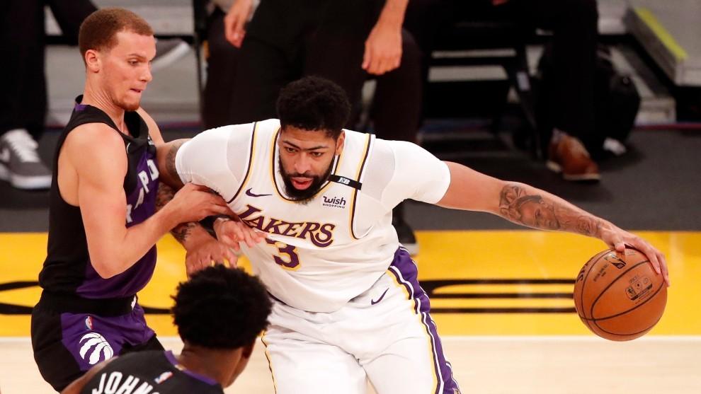 Anthony Davis, jugador de los Lakers