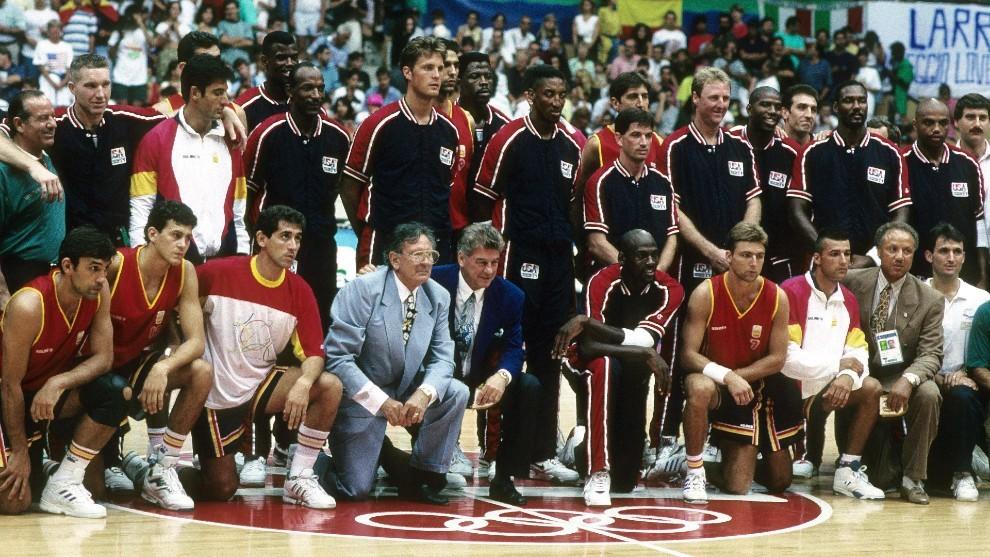 El Dream Team en los Juegos Olímpicos de Barcelona 92