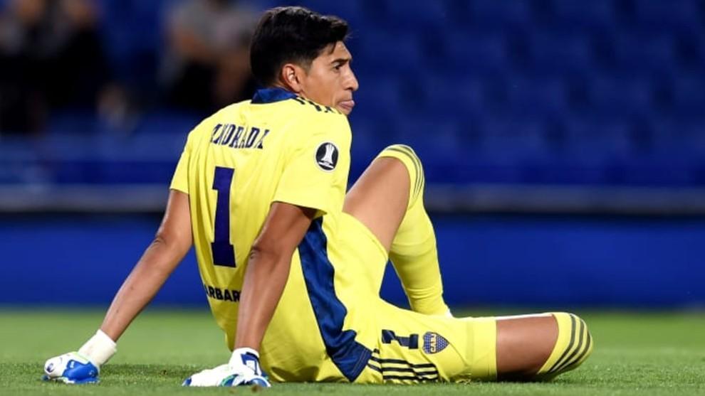 Esteban Andrada, durante un partido.