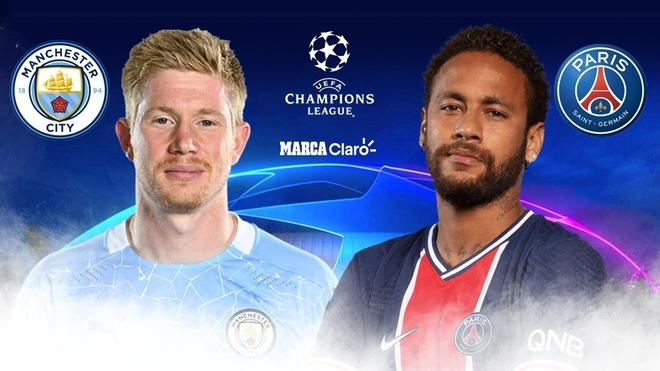 Manchester City vs. PSG, en directo por Champions League.