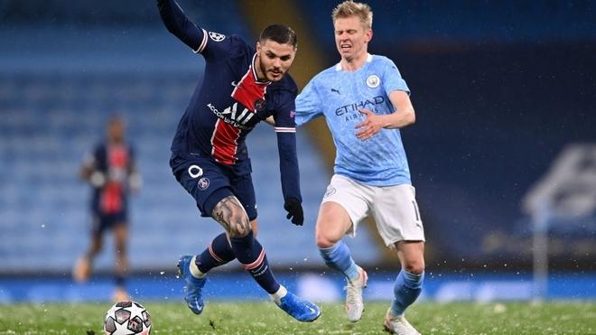Mauro Icardi apenas apareció ante Manchester City