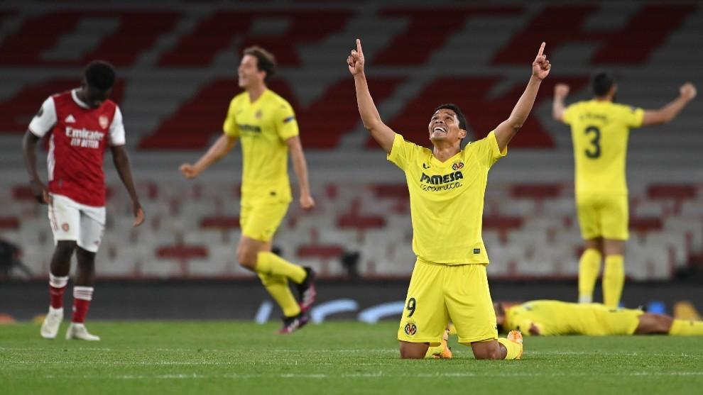 El Villarreal jugará la final de la UEFA