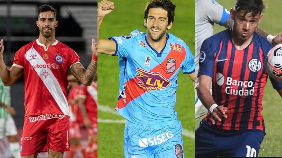 Ávalos, figura en Argentinos; Albertengo, en Arsenal, y Romero, en...