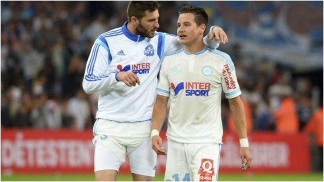 Gignac y Thauvin, cuando estaban en el Marsella.