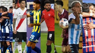 Racing, River, San Lorenzo, Central, Talleres, Unión, Independiente y...