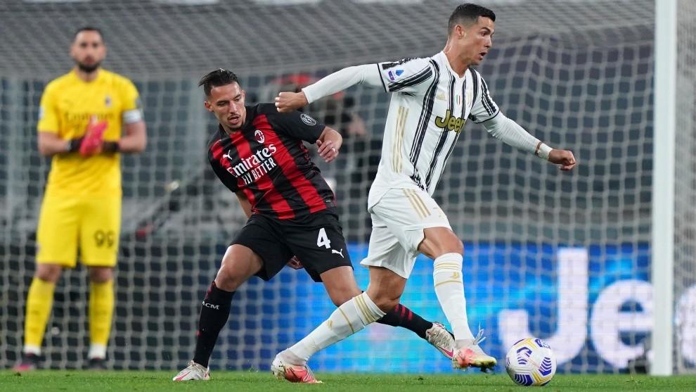 Cristiano, jugador de la Juventus