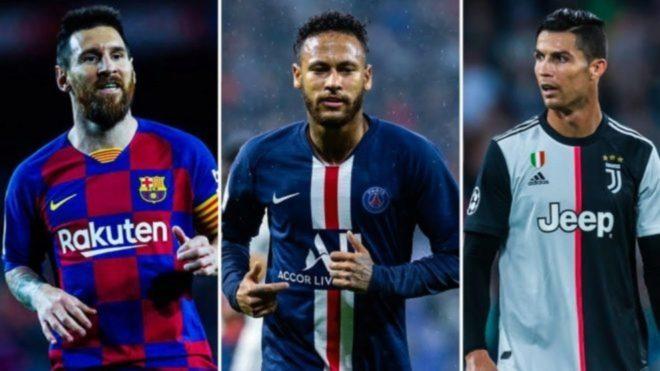 Neymar quiere a Cristiano.